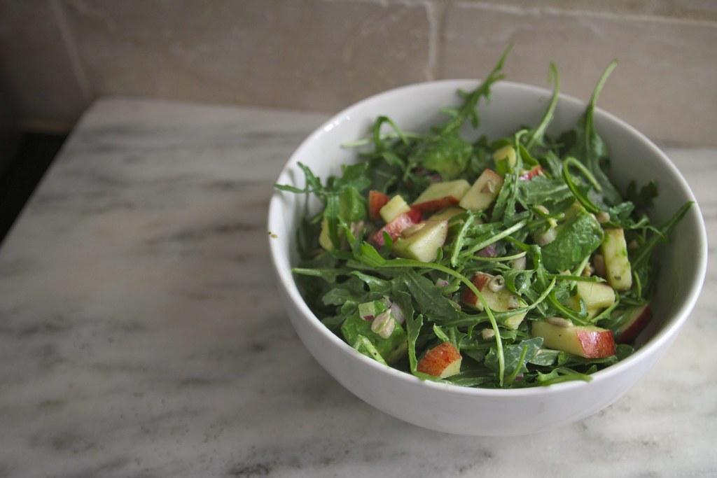 Avocado & Almond Salad