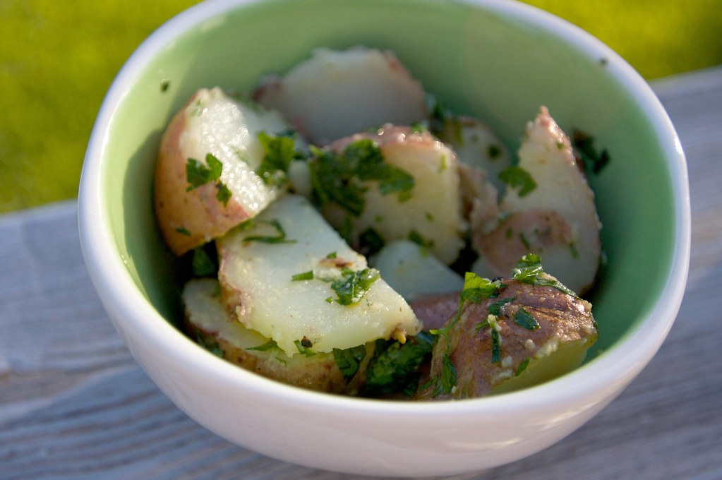 Red Potato Salad with Herbs