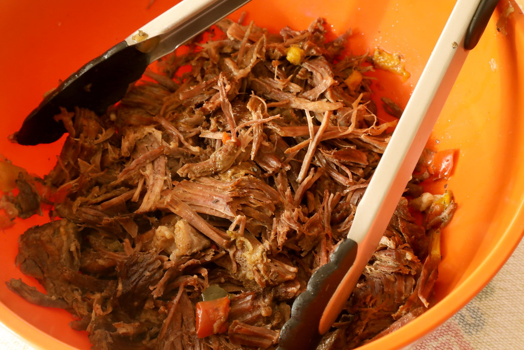 Green Chile Shredded Beef