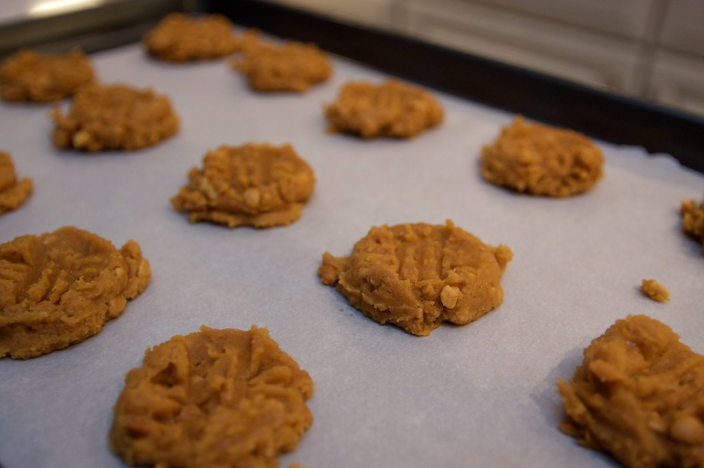 Peanut Butter Gluten-Free Cookies