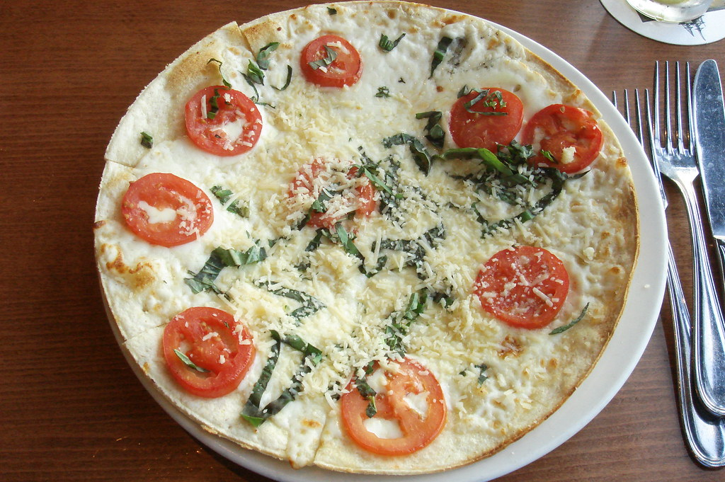 Cauliflower Crust Alfredo Pizza