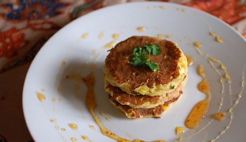 Corn Cakes with Fresh Summer Salsa
