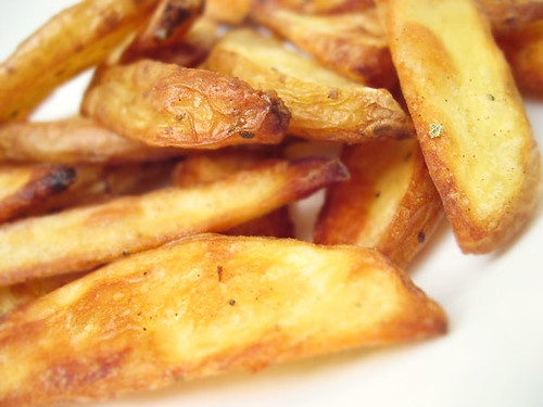 Crispy Oil Free French Fries and 3 Tasty Dipping Sauces