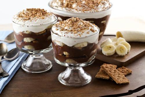Chocolate Espresso Banana Pudding