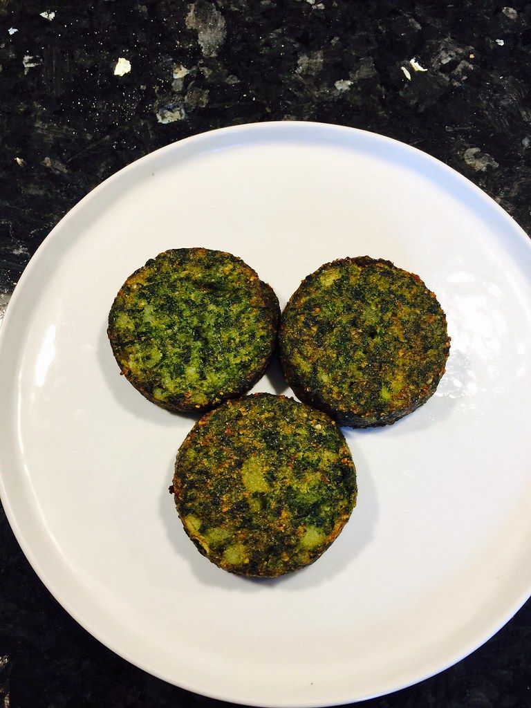 Parmesan Spinach Cakes