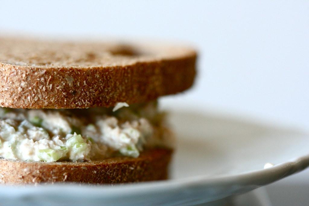 Pesto Tuna Sandwich