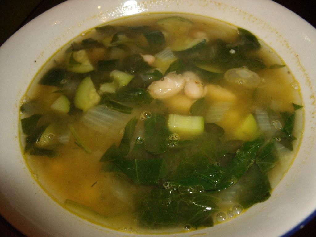 Spinach & White Bean Soup