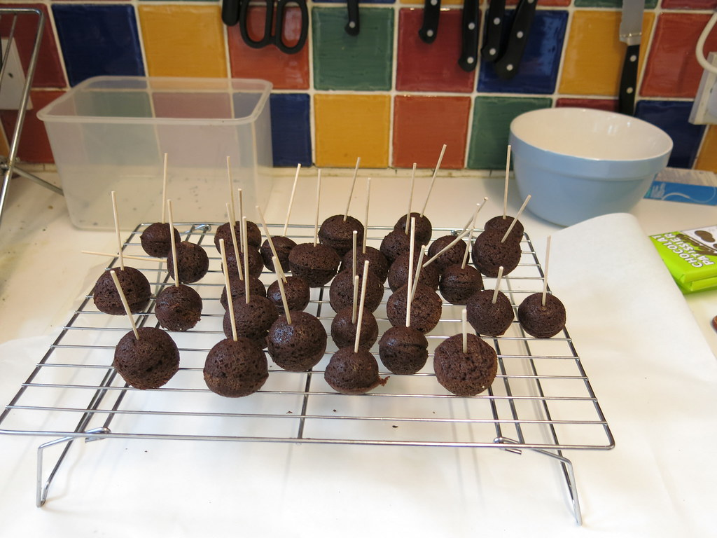 Chocolate Brownie Pops