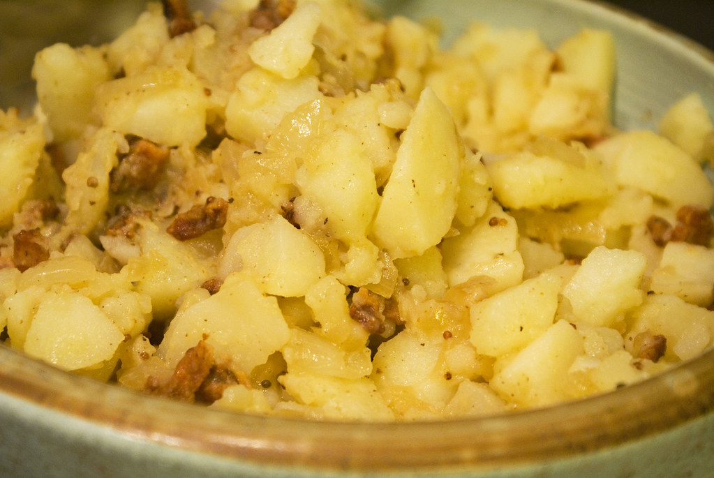 Slow-Cooker German Potato Salad